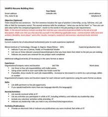 Amusing Resume Internship Template Microsoft Word In Cheeky ...