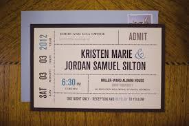 Invitation Ticket Template wedding invitation ticket template ticket wedding invitations 40