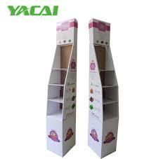 Floor Standing Display Units Adorable China Cardboard Floor Standing Display Units Corrugated Display