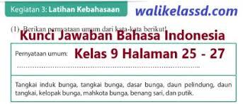 Maybe you would like to learn more about one of these? Kunci Jawaban Bahasa Indonesia Kelas 9 Halaman 11 Download Kunci Jawaban Bahasa Indonesia Kelas 9 Halaman 11 Terbaru