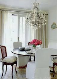 at home with hubert de givenchy château du jonchet france dining areakitchen