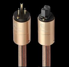 <b>Accuphase fever imported</b> power cord AU hifi power cable hifi EU ...