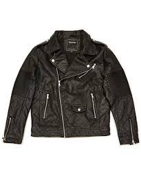 Ace Quilted Moto Jacket - Black &  Adamdwight.com