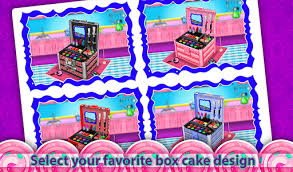 Download Princess Cosmetics Box Cake Maker Cooking Game From Myket