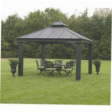 gazebo kits. garden u0026ampamp outdoor fancy hardtop gazebo for your and inside kits