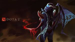 dota 2 queen of pain demons girls fantasy games
