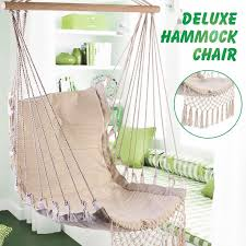 <b>Nordic Style Deluxe Hammock</b> Outdoor Indoor Garden Dormitory ...
