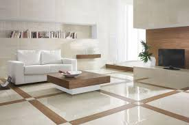 Living Room Sleek Living Room Inspiration With Tile Flooring And