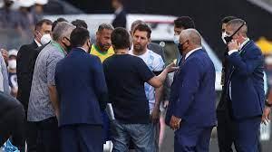 مسؤولو الصحة يوقفون مباراة البرازيل والأرجنتين