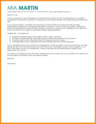 3 4 Sample Cover Letter Admin Assistant Wear2014 Com