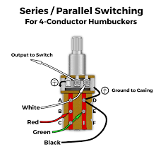 mod of the month series parallel humbucker wiring lindy series parallel push pull modification for humbuckers