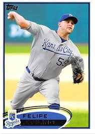 Amazon.com: 2012 Topps Series 1 Baseball #38 Felipe Paulino Kansas City  Royals Official MLB Trading Card: Collectibles & Fine Art