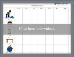 Free Chore Chart Downloads Lovetoknow