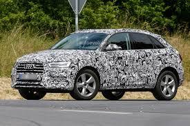 Audi Facelift Prototype Shows All New Audi Suv Design