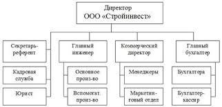 По результатам проверки аудитор оформляет отчет который содержит  Организационная структура управления компанией представлена на рисунке 2 1