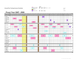 training calendars templates annual training calendar template format kays makehauk co
