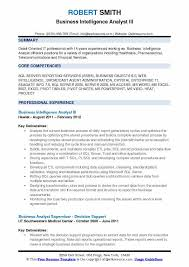 Business Objects Resume Business Intelligence Analyst Resume Samples QwikResume 15