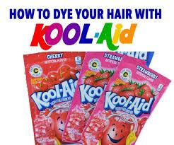 Kool Aid Hair Dye Chart For Dark Hair How To Dye Your Hair With Kool Aid Learn All The Tips