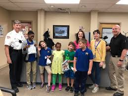 We had some special visitors at the... - Park Ridge Police Department |  Facebook