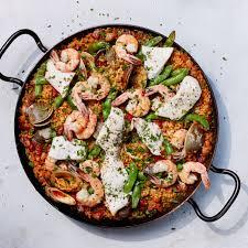 Grilled Seafood Paella Recipe