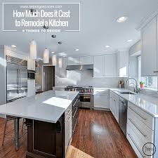 Renovating A Kitchen Cost How Much Does It Cost To Remodel A Kitchen In Naperville Sebring