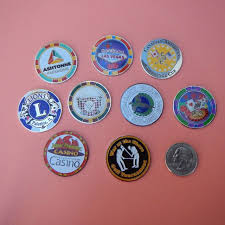 ball markers. the are size of a half dollar 11/4\ ball markers