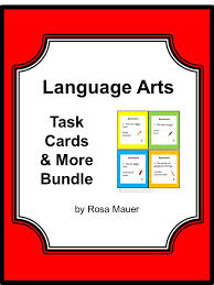 Language Arts Bundled Task Cards will save you time and money ...