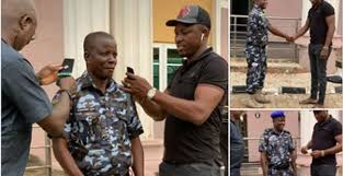 delta lawmaker ossai osanebi gifts police officer n1m to celebrate promotion to asp