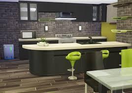 sims 4 kitchen design. rose dust sim kitchen u0026 dining sims 4 design i