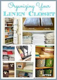 fantastic ideas for organizing your linen closet