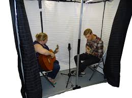 this large booth provides up to 52 db sound reduction and suitable for over recording singing practice instrument practice audiometry testing and