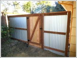metal privacy fence corrugated metal fence corrugated metal privacy fence corrugated metal fence plans corrugated metal