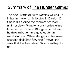 Summary of The Hunger Games