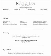 Night Fill Resume Sample Inspirational Blank Resume Template Pdf Blank Cv  Resume Template 5 7 Free