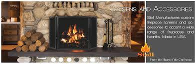 stoll fireplace inc custom glass fireplace doors heating pertaining to fireplace screens with doors renovation