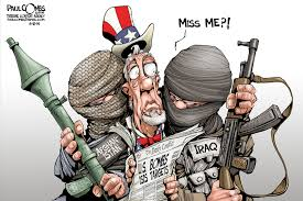 Image result for ISLAMIC STATE CARTOON