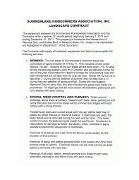 8 Landscaping Services Contract Templates Docs Word Free