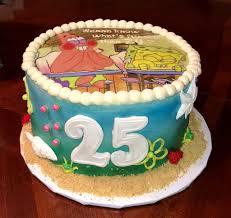25th Birthday Cake My Sweet Caboose