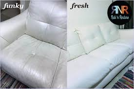 cass res this leather couch with rub n re marine white conditioning leather paint