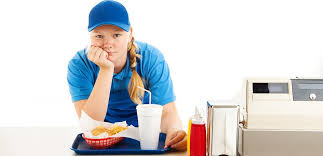 take a guess how much fast food workers get paid in other countries
