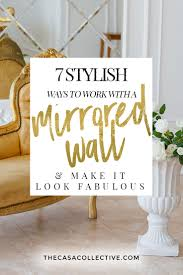 Fabulous design mirrored Console Stylish Ways To Work With Mirrored Wall Make It Look Fabulous Are Alexzurdoclub Stylish Ways To Work With Mirrored Wall Make It Look Fabulous