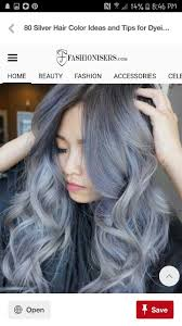 85 Silver Hair Color Ideas And