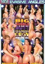 Bubble butt free orgy