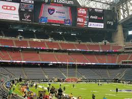 Houston Reliant Stadium Seating Chart Texans Seating Nrg Stadium Seating Chart Houston Texans