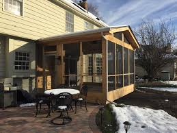 Screened In Porch Design screen porch design ideas by archadeck of chicagoland 8350 by uwakikaiketsu.us