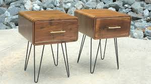 modern end tables. Mid-Century Modern Walnut End Table | How To Build - Woodworking Tables E