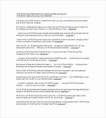 12 30 60 90 Day Action Plan Template Free Download 163956728249
