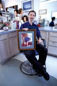 to enlarge bernie dubois holds a photo of his father camile dubois matthew thorsen