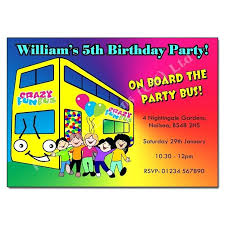 party bus invitations party bus birthday invitation wording