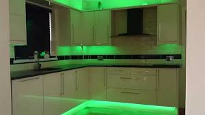 led lighting in kitchen. image of green led tape light kit lighting in kitchen